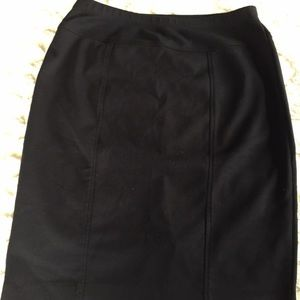 Ellen Tracy Ponte knit skirt